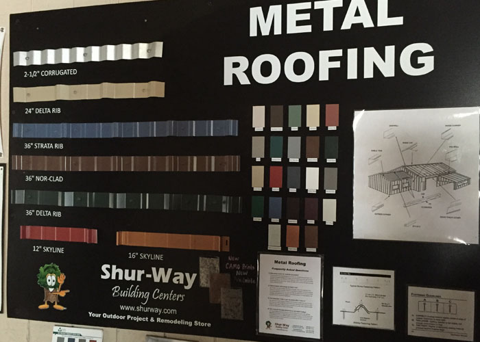 Roofing Shur Way Building Center