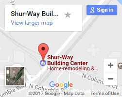 Shur-way Building Center on Google Maps