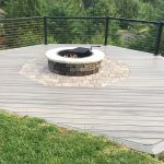 Decking & Mason Fireplace