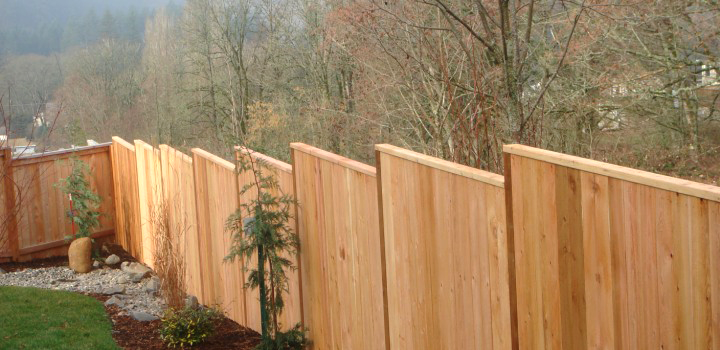 Cedar Fence Camas Wa By Built Stout Construction