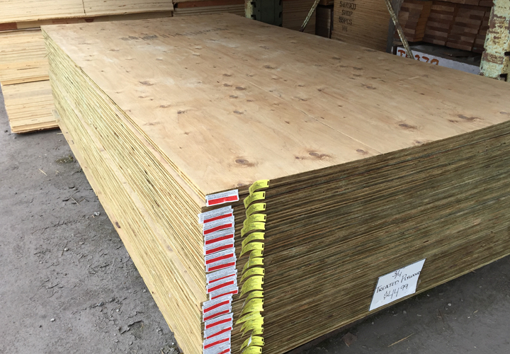 Plywood Shur Way Building Center